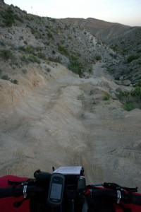 Jeep Road, typical terrain on the Stagecoach 400 route. Photo by Jill Homer.