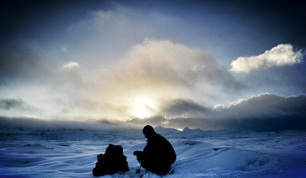 Tim Williamson trains for a solo, unsupported Arctic journey in Iceland.