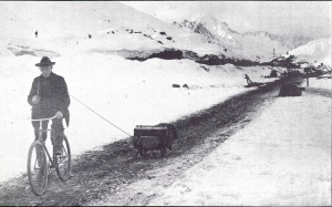 Crossing frozen Alaska by bike — a hundred years ago