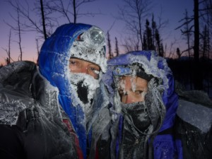Tim and Loreen Hewitt near Farewell Lakes in 2011. Photo from Tim Hewitt.