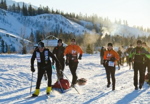 Yukon Arctic Ultra underway