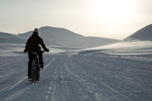 Cycle race to the South Pole