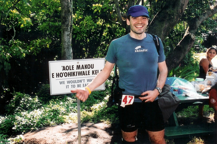 2008 HURT 100 in Oahu, Hawaii.