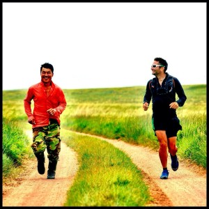 A run across the Gobi Desert