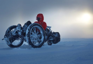 Three cyclists gear up for Antarctica