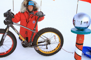 South Pole cyclist reflects on experience