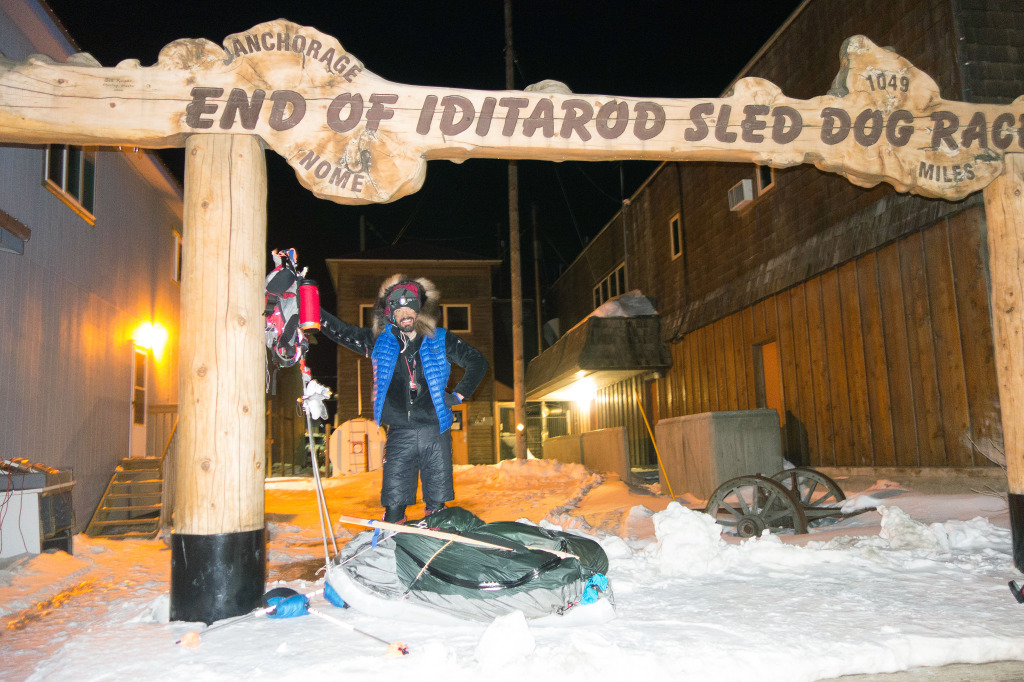 """Beat Jegerlehner at the finish of a thousand-mile foot race across Alaska. The Iditarod Dog Sled Race is often marketed as """"The Last Great Race,"""" begging the question —what does that make the Iditarod Trail Invitational, where athletes don't even have the support of a dog team?"""
